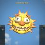 Fasnacht Sun Mask - image