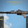 Two Shot Explosive Light Machine Gun +1 Agility - image