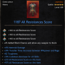 PERFECT Heavy Chest | +1187 All Resist | +45% Material DMG | +39% TTD | +39% CDR | +82 Toughness - image