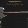Vampire's Grognak's Axe- Level 50 - image