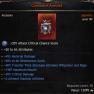 Best Amulet, 20 Attributes, 30% Critical Damage, 45% Material Damage, 40% Transfer Decrease, 40% Res - image
