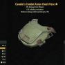 Cavalier's Combat Armor Chest Piece- Level 50 (-8% damage Form Players) - image