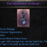 ✅NEW The Macksfesten Enneract✅100% Occult Damage | 34%Attack Gain |27 Wilp | 42Wis |48% Occ Ailment✅ - image