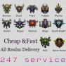 384 lvl BoE Package ✯ All Realm Delivery!!! ✯ All Classes ✯ See Details!!! - image