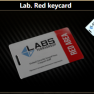 Lab. Red keycard - image