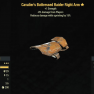 Cavalier's Buttressed Raider Right Arm- Level 45 (-8% damage Form Players) - image