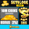 2,58 = 10 Million coins ! Cawa's Store! Fast Service ! - image