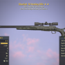 Bloodied Explosive .50 Hunting Rifle (Sniper Rifle) - image