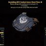 Unyielding BOS Combat Armor Chest Piece- Level 50 (Sentinel's) - image