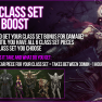 EpicBoost ✅US / EU✅ Full Class Set BOOST 6/6 PIECES = $13 ✅ 100% POSITIVE FEEDBACK - image