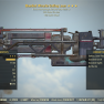 Bloodied Ultracite Gatling Laser 25% faster fire rate 15% faster reload - image