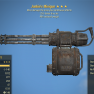 Junkie's Minigun 25% faster fire rate 90% reduced weight - image