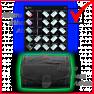 S I C C case + Lab. full keyset - Red, Blue, Black, Yellow, Green, Violet + 3 keys + 16 cards SICC - image