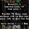 VEX RUNE FOR FREE ( ONLY IF YOU GIVE ME A REVIEW ON SITE) FOR 0.50CR ONLY!!! - image