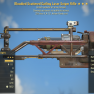 Bloodied Gatling - Laser Sniper Rifle [25% Less VATS] [Glitch weapon] - image