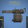 Bloodied Explosive Minigun V.A.T.S. critical meter fills 15% faster - image