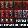 25 PERFECT Items | Full Endgame Set for any Material Damage Build | Max DMG Weapons | Max Crit DMG - image