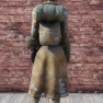 Traveling Leather Coat [Outfit] with Backpack - image