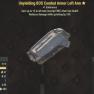 Unyielding BOS Combat Armor Left Arm- Level 40 (Cavalier's) - image