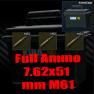 ★ ❤️【Ammo 7.62x51 M61 ▶Ammo Case ▶ 1960 Bullet】❤️ ★ - image