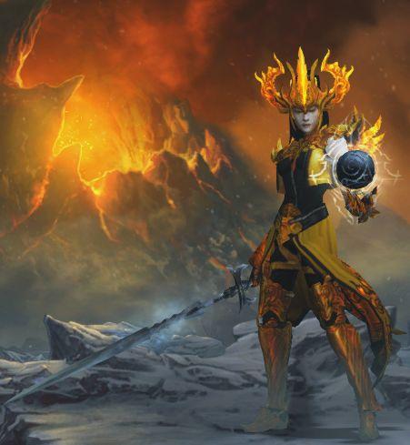 Diablo  Meteor Sorc Build