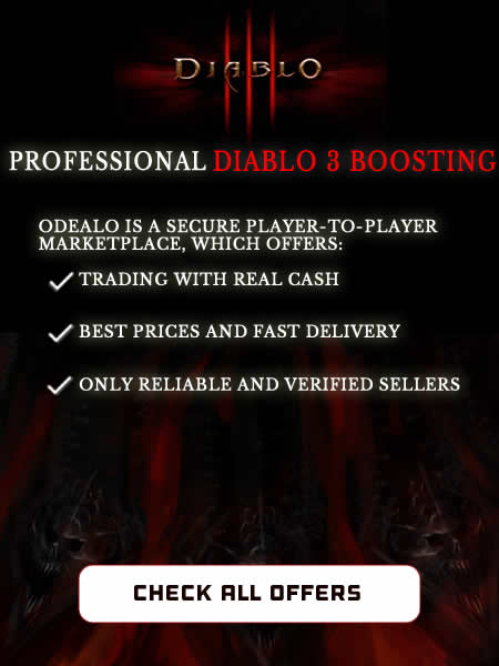 Diablo 3 Boosting and Power Leveling