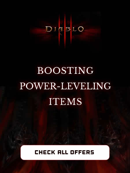 Buy Diablo 3 Power Leveling