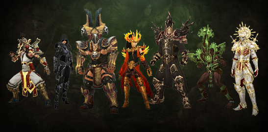 Diablo 3 Classes Season 13