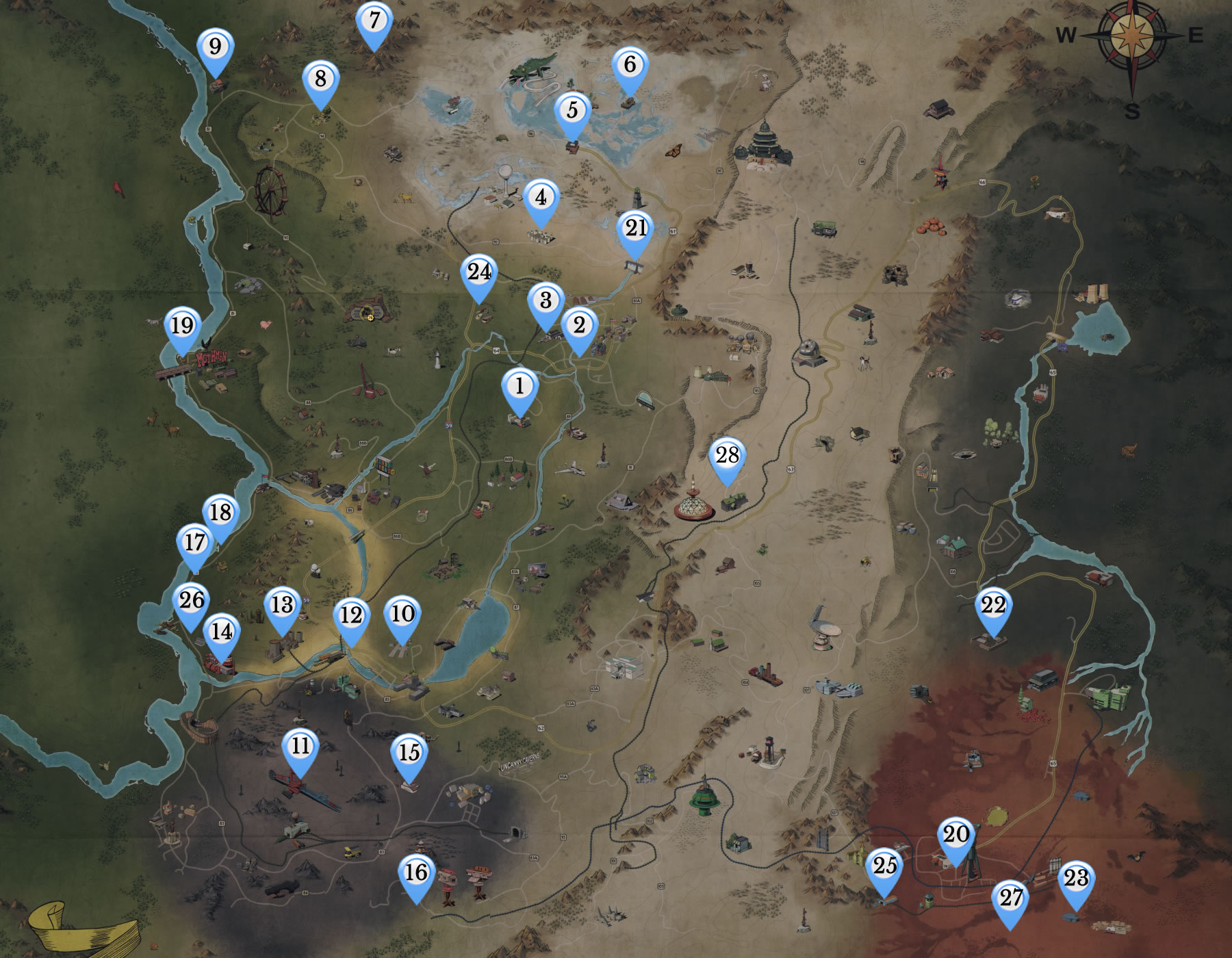 Fallout 76 Power Armor Locations - an in-depth Guide by