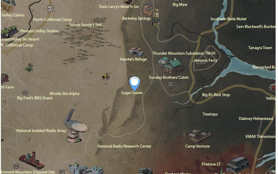 Fallout 76 Legendary Items Best farming locations
