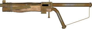 Pipe Bolt-Action Rifle