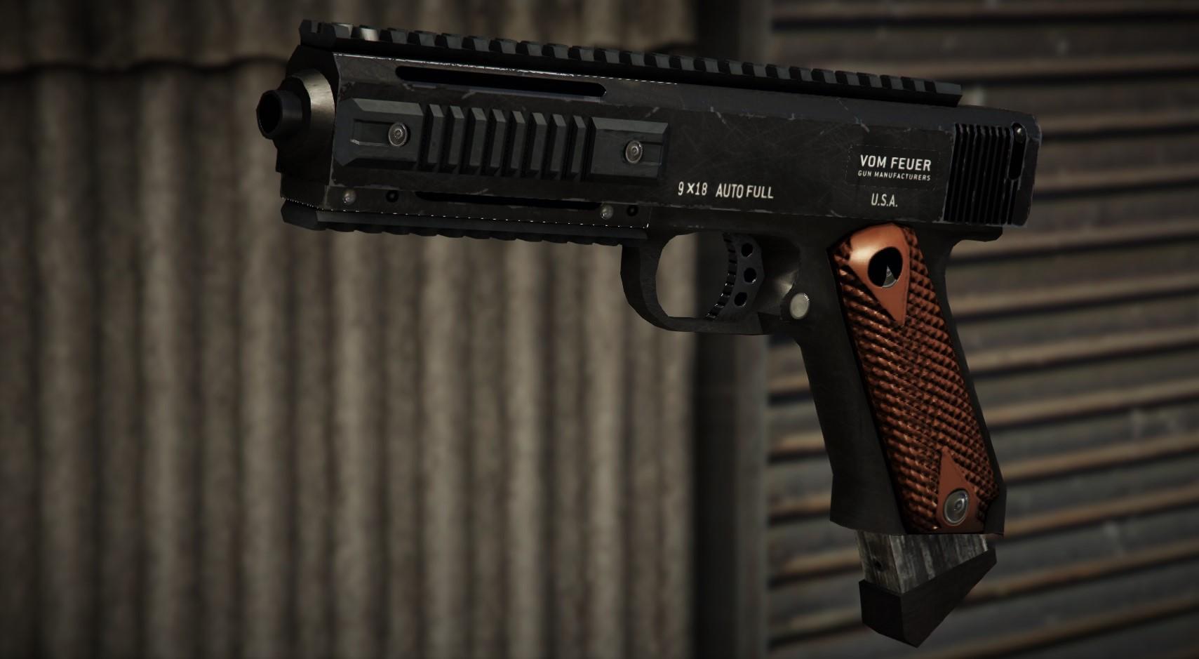 AP пистолет