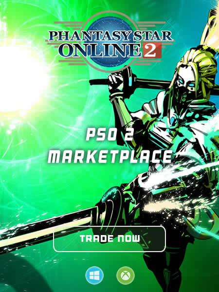 PSO2 Marketplace