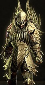 Bleached Bone Demon Armour
