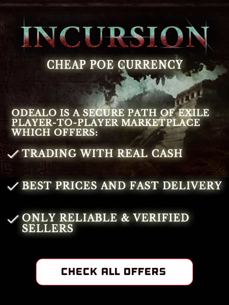 PoE Currency Incursion