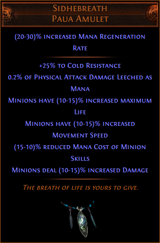 Poe End Game Bow Builds