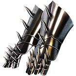 Spiked Gloves