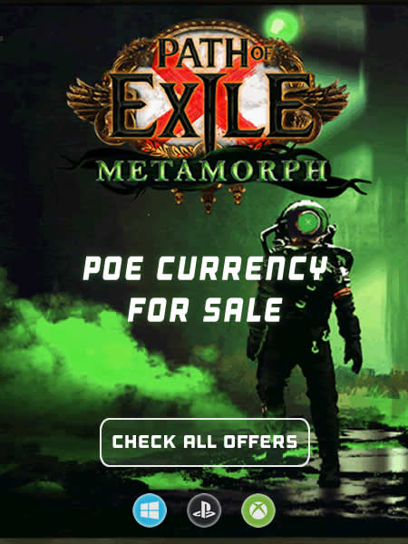 PoE Currency and Orbs for Sale