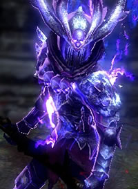 Purple Necrotic Armour