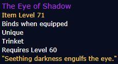 Статистика Eye of Shadow