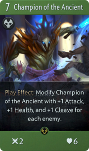 Champion of the Ancient