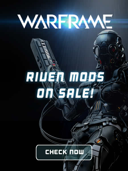 Buy Warframe Mods and Riven Mods