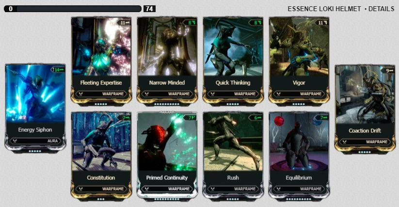 Loki Prime Solo Stealth Build - Odealo