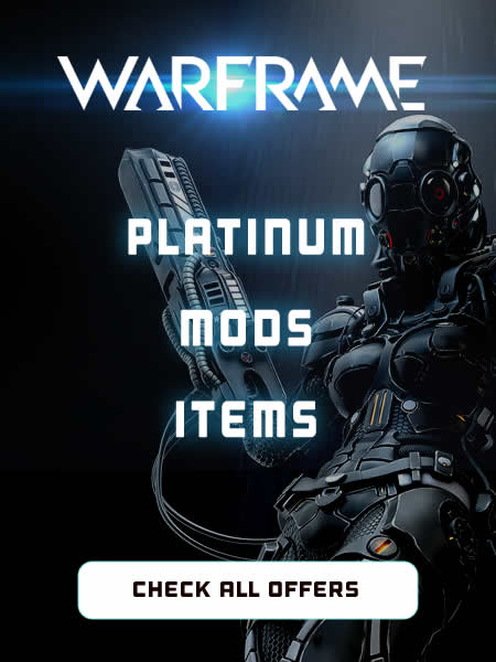 Warframe Platinum, Mods and Items